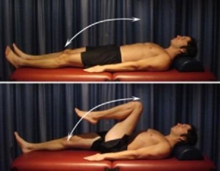 خم و صاف کردن مفصل ران و زانو