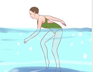 شنا کردن پس از جراحی تعویض مفصل زانو