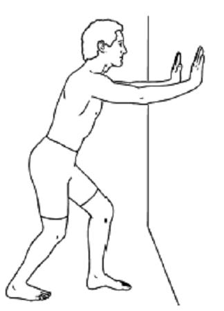 کشش ایستاده عضله سولئوس یا ماهیچه نعلی