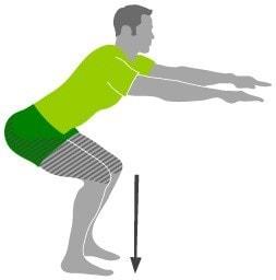 تمرین تقویت عضلات پا